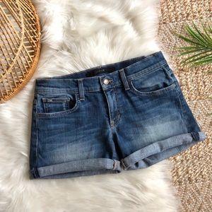 Joe's Jeans Midi Inseam Roll Hem Denim Jeans 26